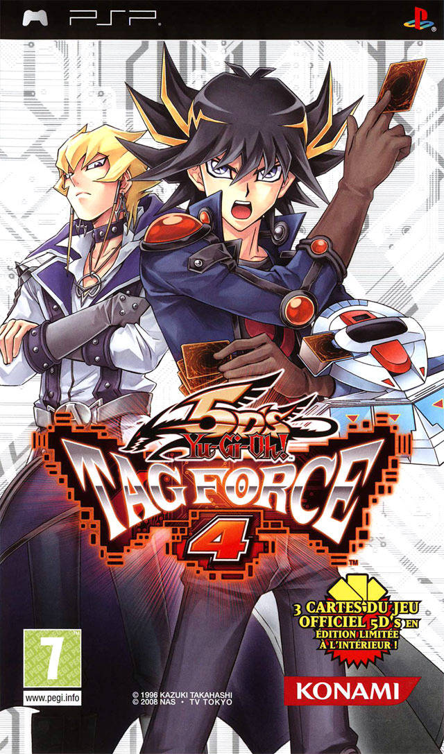 Yu-Gi-Oh! 5Ds Tag Force 4 - PSP - ISO Download