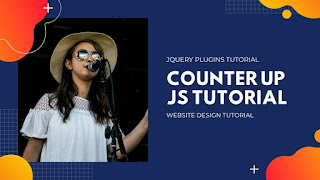 How to use Counter Up js