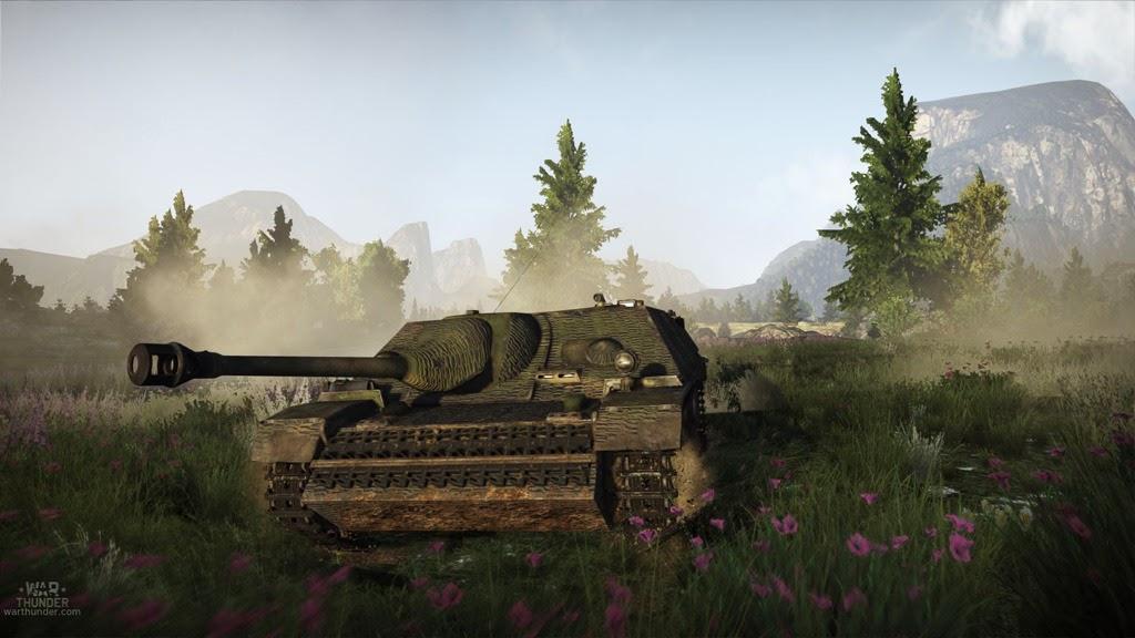 War Thunder новые танки и карта
