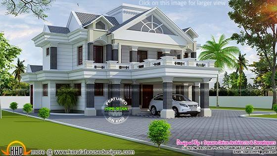 Nice decorative villa