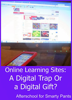 Online Learning Sites for K and Elementary