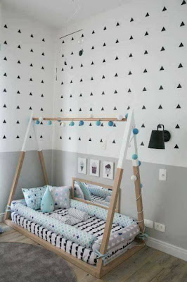 Camas para bebés en forma de casa