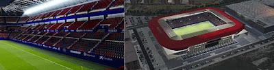 El Sadar Stadium + Exterior