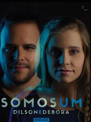 """""""Somos Um"""": Dilson e Débora lançam álbum de louvor e adoração em CD e DVD"""