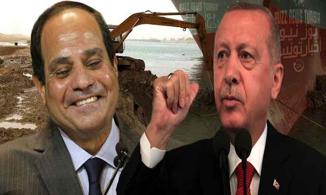 رجب طيب أردوغان وعبد الفتاح السيسي