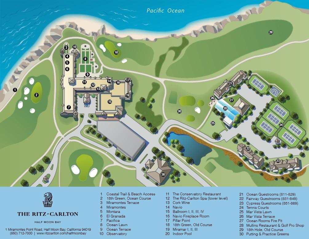 Review Ritz Carlton Half Moon Bay San