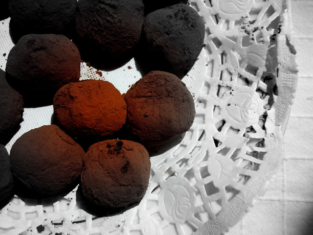 chilli chocolate truffles