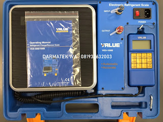 Darmatek Jual Value VES-100B Timbangan Refrigerant 100kg