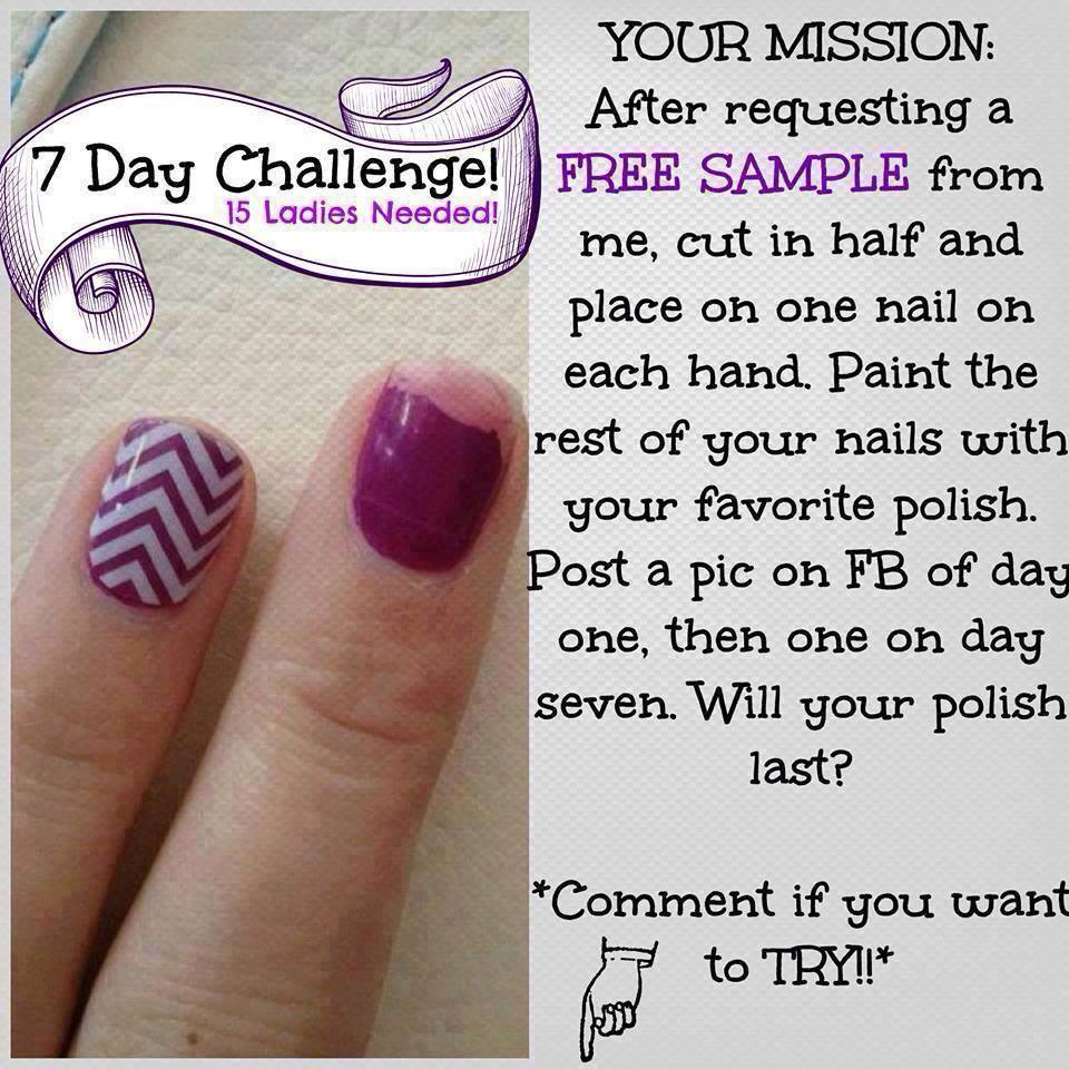 Steph's Jam Nails : Try It Thursday - 7 Day Challenge