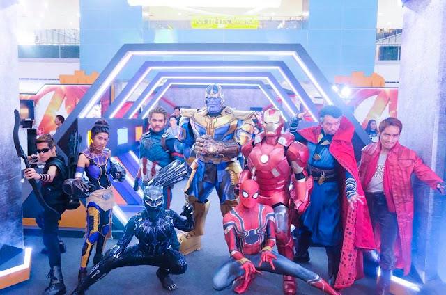 Avengers Infinity War Cosplay Fail at SM City North EDSA ...