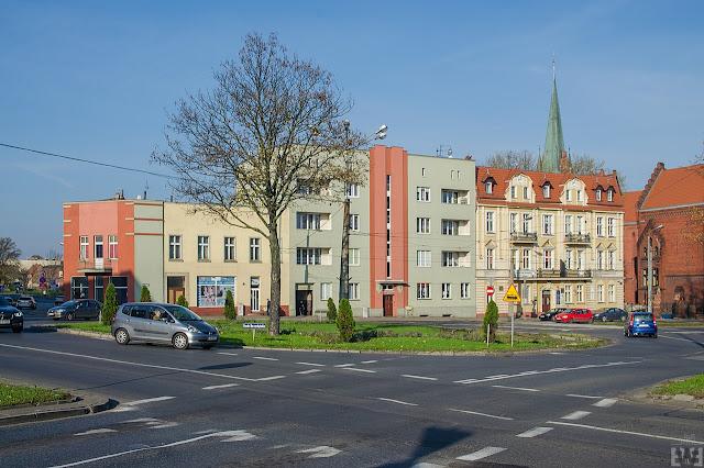 Budowa trasy tramwajowej na ulicy Kujawskiej w Bydgoszczy