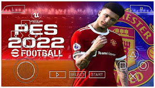 Download PES 2022 Manchester United Edition PPSSPP HD Faces & Full Transfer