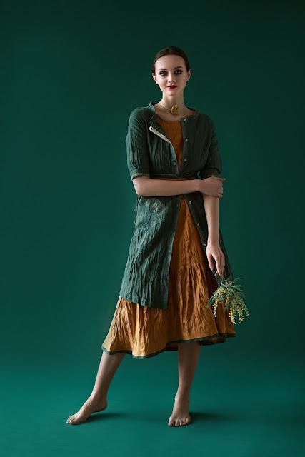 Платье-жакет. Модель CV-4145