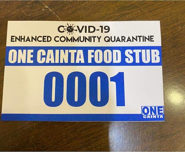 One Cainta Food Stub
