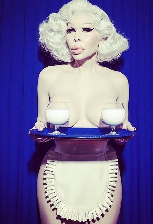 Amanda lepore plastic surgery before and after pictures