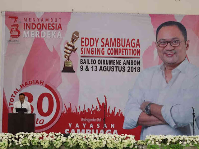 Antonius Latuheru Buka Eddy Sambuaga Singing Competition