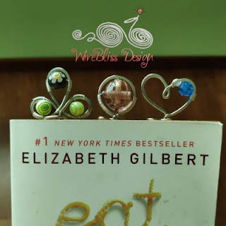 Wire Wrapped bookmarks by WireBliss