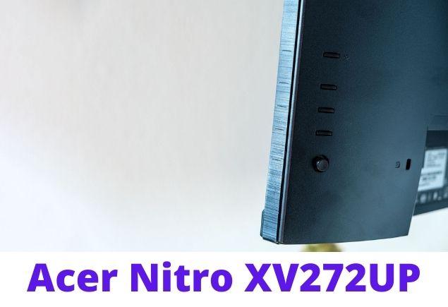 Acer Nitro XV272UP look