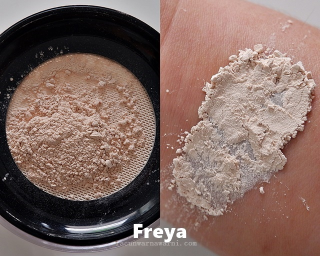 Swatch Looke Loose Powder Shades Freya Light Beige