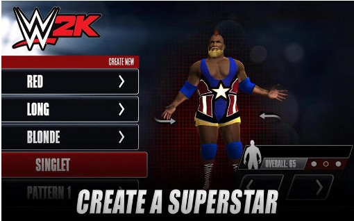 Download WWE 2K Game Mod Apk v1.1.8117 Terbaru