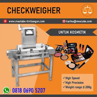 Checkweigher untuk Kosmetik