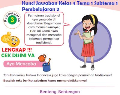 Kunci Jawaban Kelas 4 Tema 1 Subtema 1 Pembelajaran 3 www.simplenews.me