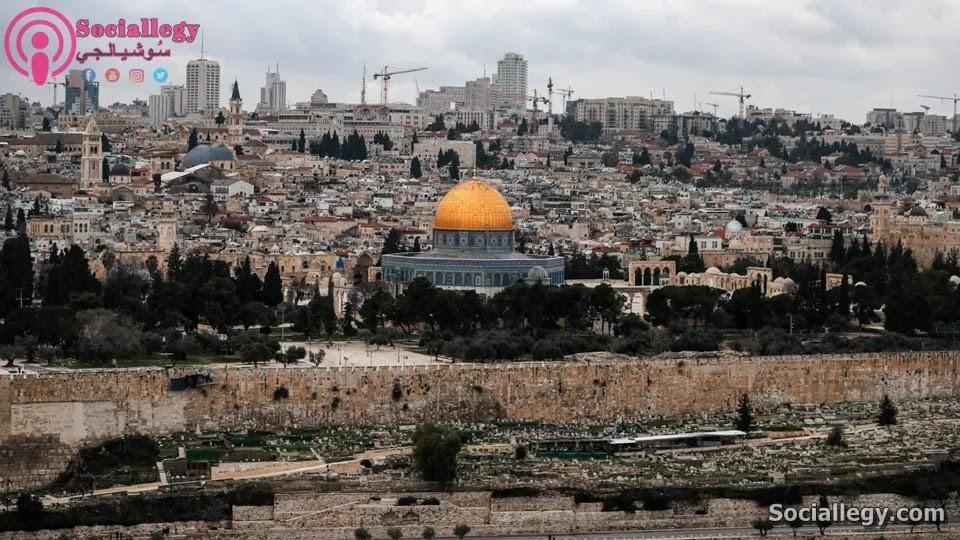 مدينة القدس أولى القبلتين وثالث الحرمين الشريفين