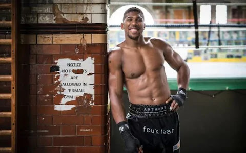 Anthony Joshua Smiles