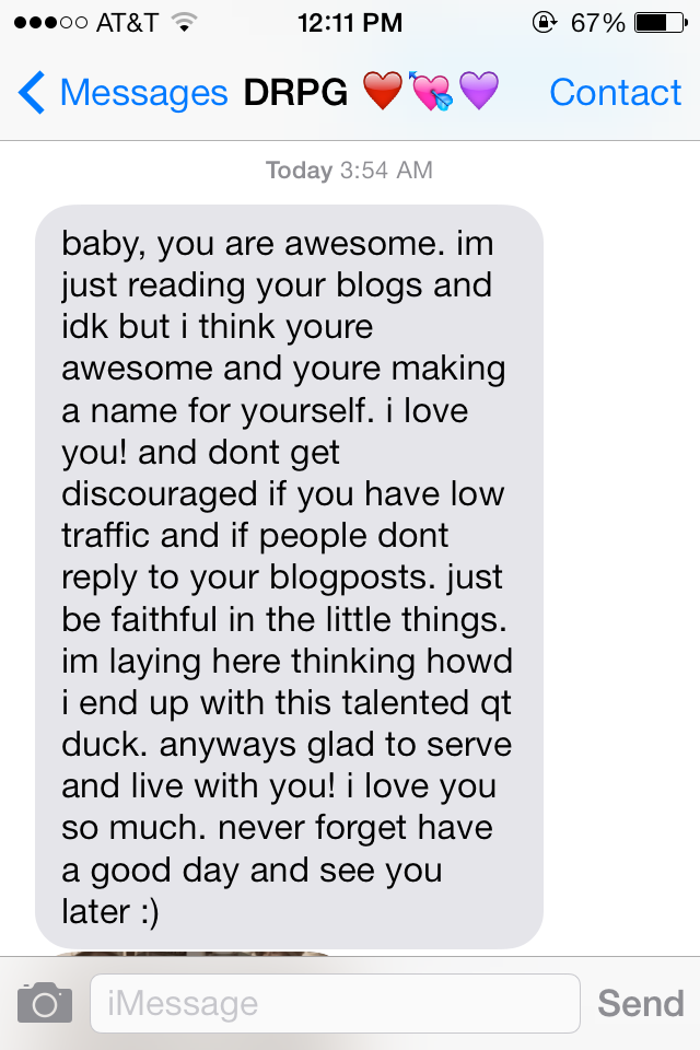 how to prove you love him over text