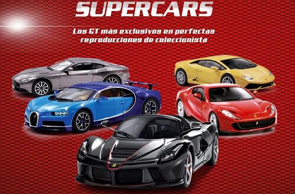 Colección Autos a Escala Supercars Salvat