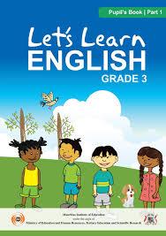 Grade 3 English Activity