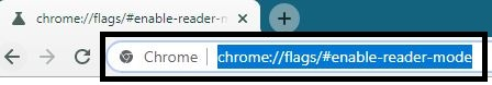 How To Enable Hidden Reader Mode In Chrome Browser