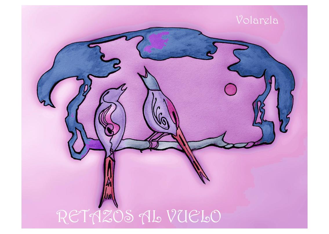 Retazos al vuelo. Prosa poética, poesía y cuentos. Maite Sánchez Romero (Volarela)