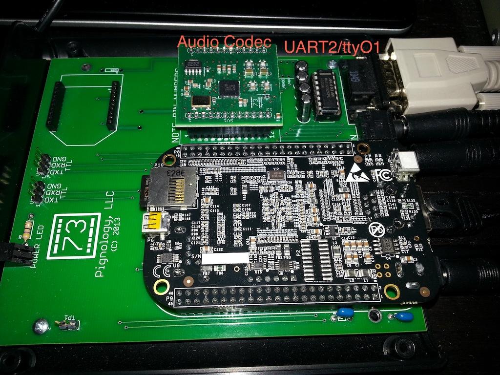 Pignology News: Getting UART2 (/dev/ttyO1) Working on BeagleBone Black
