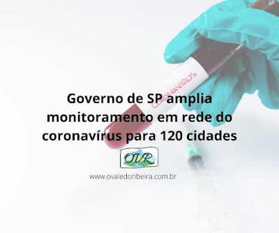 Governo de SP amplia monitoramento em rede do coronavírus para 120 cidades