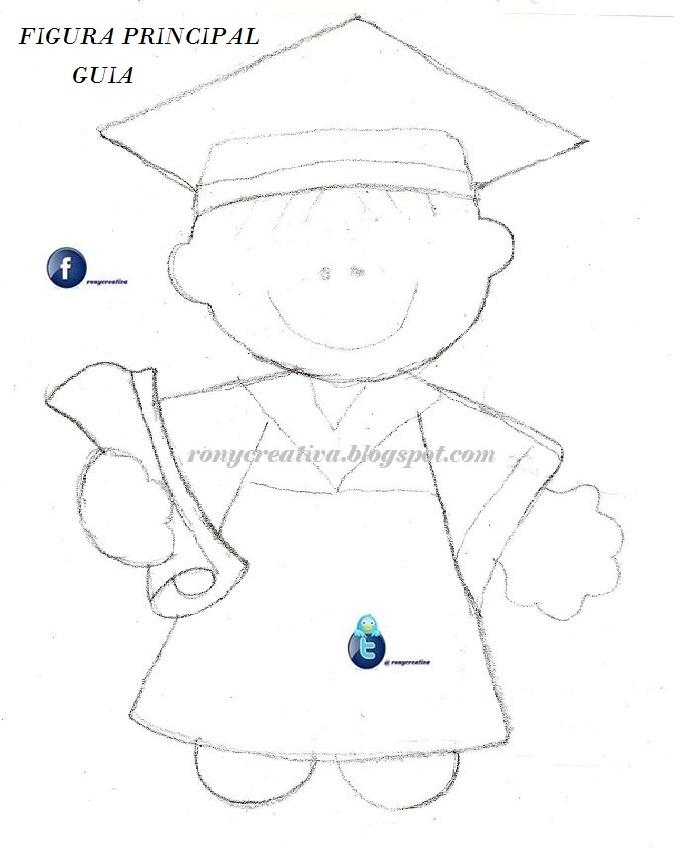 ronycreativa: Graduados de foamy o goma eva / Arreglos para ...