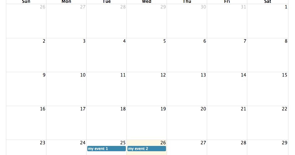 jQuery fullcalendar integration with PHP and MySQL