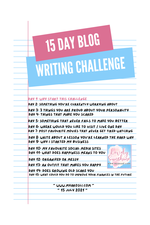 Why Start This Challenge