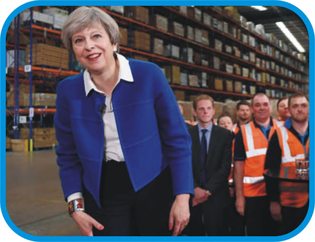 Theresa May promises a fairer future