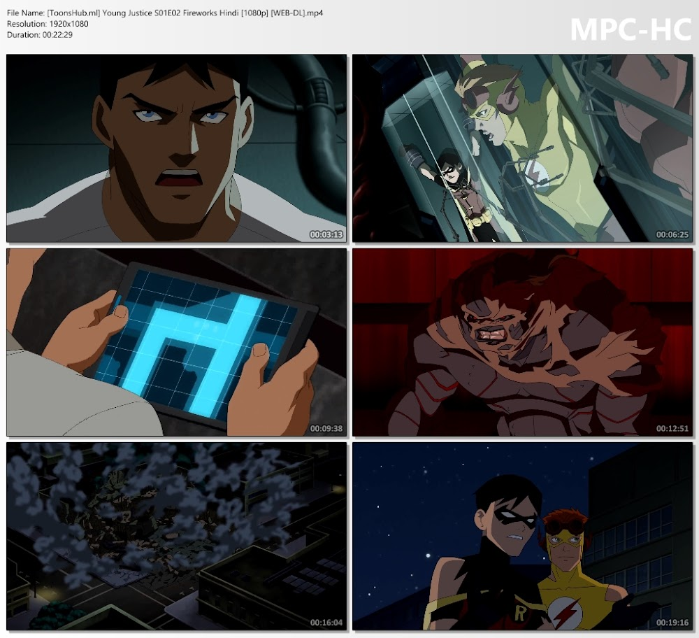 Young Justice (Season 1) Hindi Episodes Download 1080p NF WEB-DL
