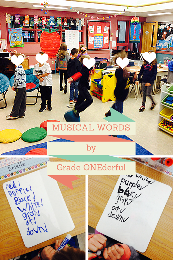 Spelling Sight Words to Music