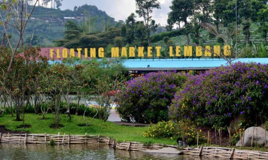 Menikmati Sajian Kuliner Sambil Foto Narsis di Floating Market Lembang