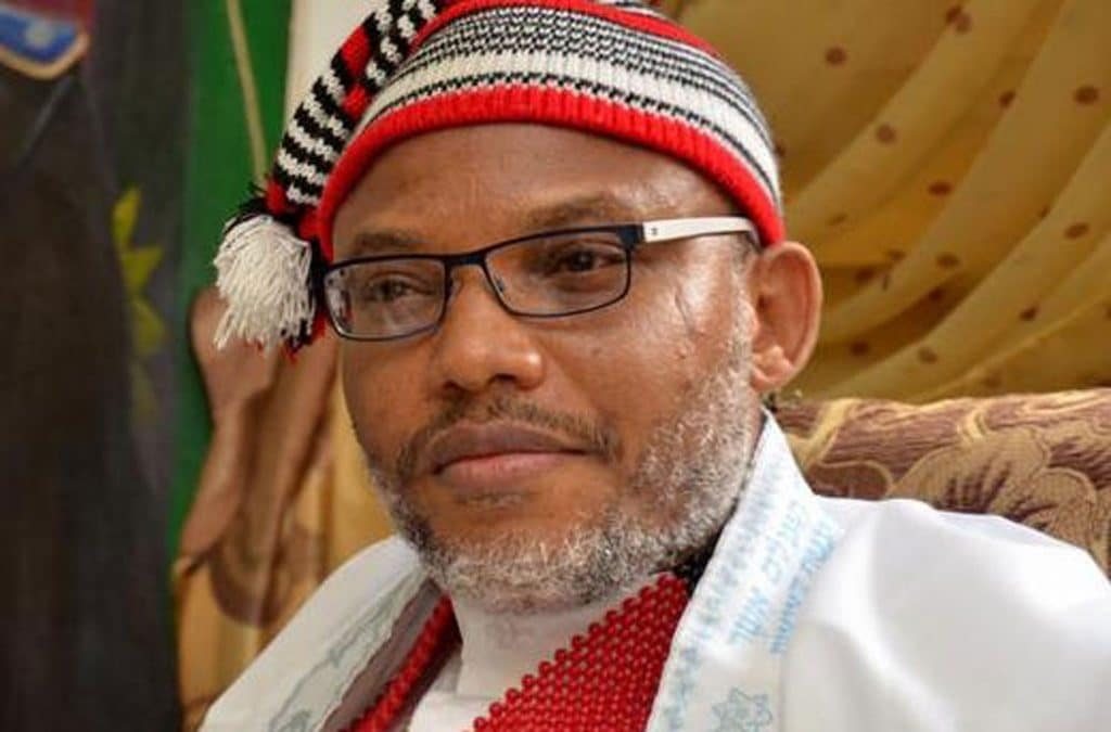 Nnamdi Kanu Blows Hot As He Reacts to #EndSARS Protest #Arewapublisize