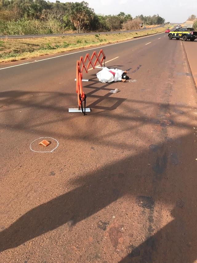 Goiás: Atropelamentos deixam três pessoas mortas nas rodovias Federais nesta Segunda-feira