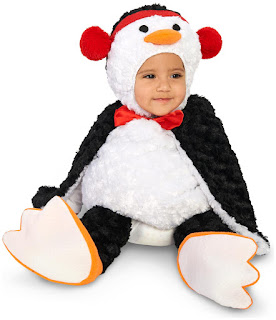 Cute Cuddly Penguin Infant Costume for Halloween
