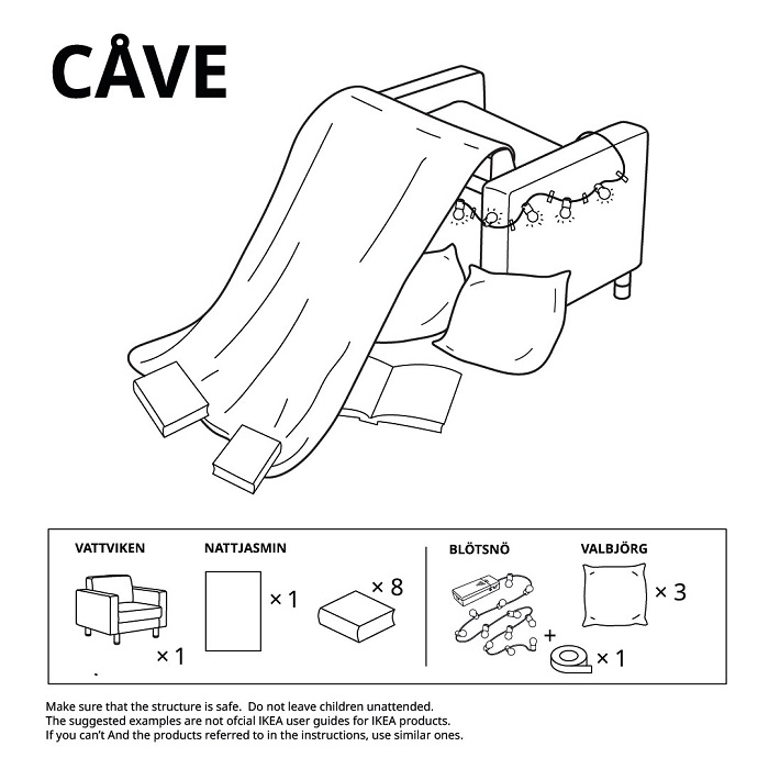 Cave 6 IKEA Castle Ideas To Build Guide