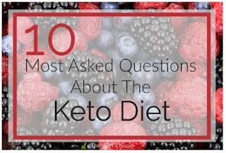 The most common questions regarding the keto diet