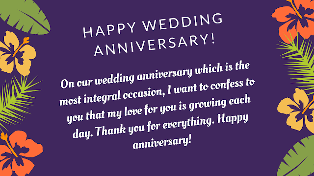 happy anniversary for wife