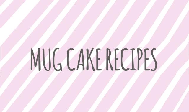 Top Three-mug Cake Recipes #infographic