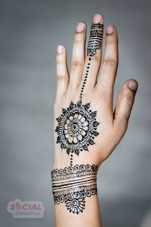 latest Arabic Mehndi Designs 2019